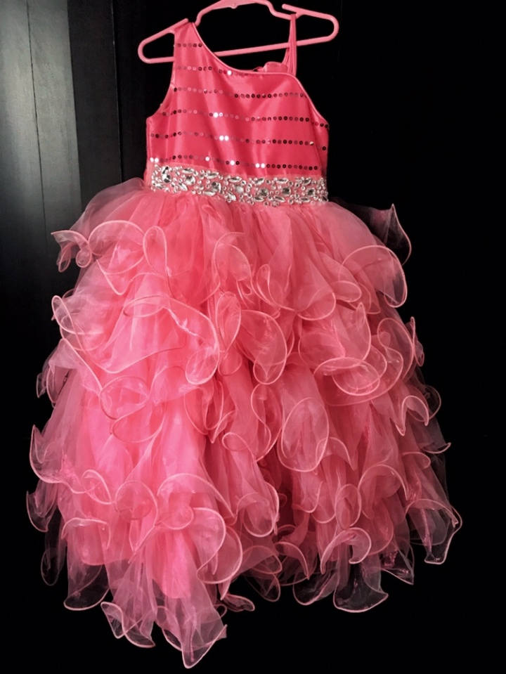 A little pink dress- To the mom who makes mistakes.